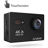 Andoer 4K Ultra HD 16-Megapixel WiFi Touchscreen Action Camera