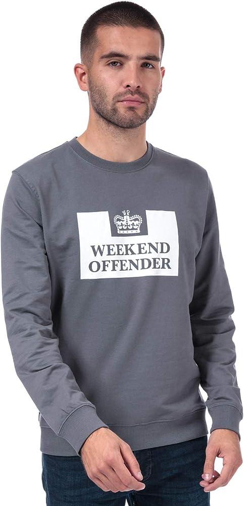Weekend Offender - Sudadera para hombre con logotipo de Birra en ...