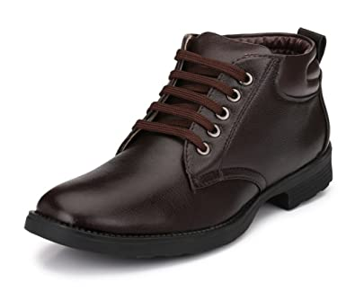 Mens Boots for Work Fashion Chelsea Cowboy Hiking Biker Millitary Dress Boots Oxford Boots Mid Ankle Boots for Men