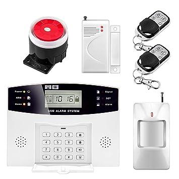 Sistema de alarma inalámbrico SMS GSM PSTN Red Home PIR ...