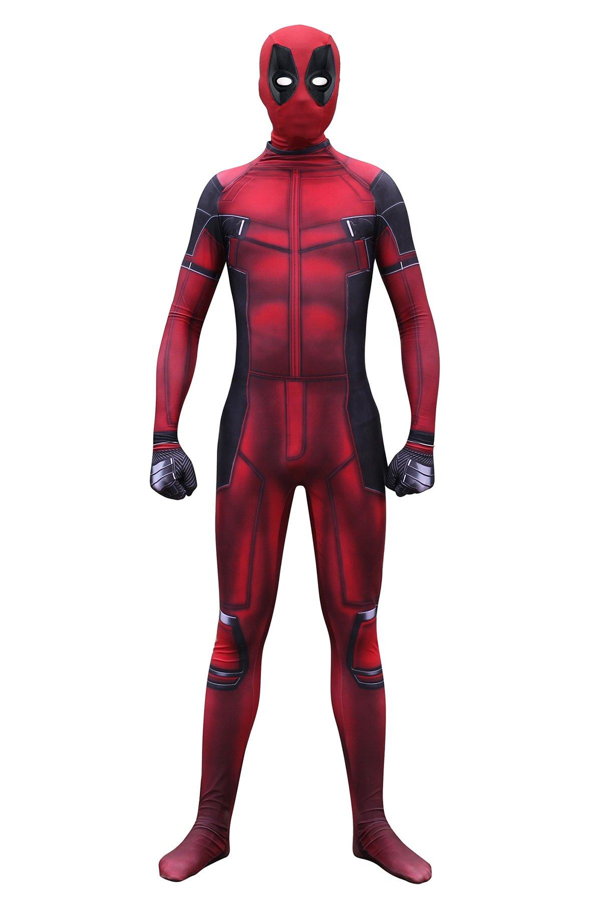 - 612mdT1Md9L - Pizone Unisex Spandex Zentai Halloween Onesie Fullbody Elastic Bodysuit Adult/Kids