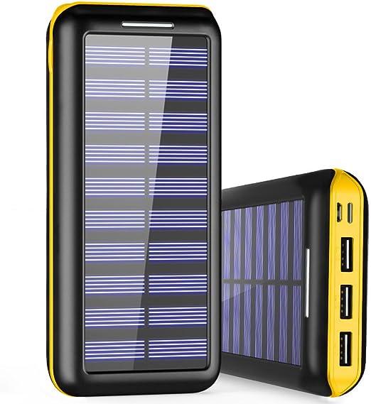 Cargador Portátil PLOCHY 24000mAh Cargador Móvil Portátil Batería ...
