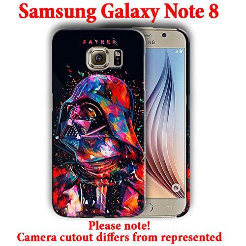 buy popular ca732 c7480 Amazon.com: Star Wars for Samsung Galaxy Note 8 Hard Case Cover ...