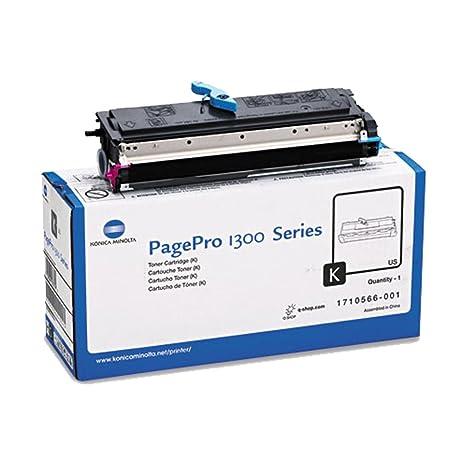 amazon com konica minolta pagepro 1350w black original toner 3 000 rh amazon com Manual Stencil Printer HP Printer Manuals PDF