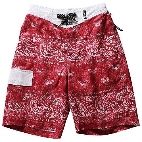 SAFS Boardshorts Designed Paisley Hibiscus product image