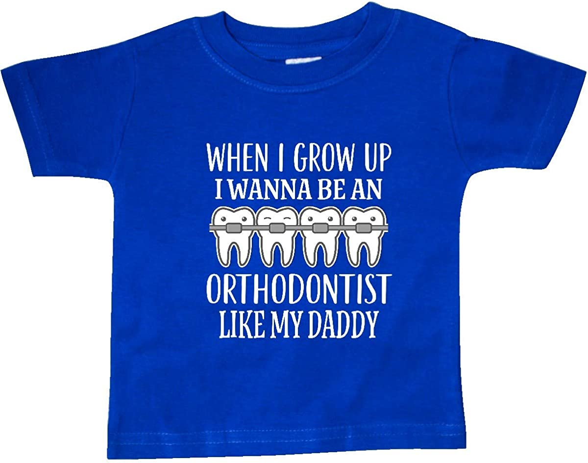 inktastic Future Orthodontist Like Daddy Baby T-Shirt