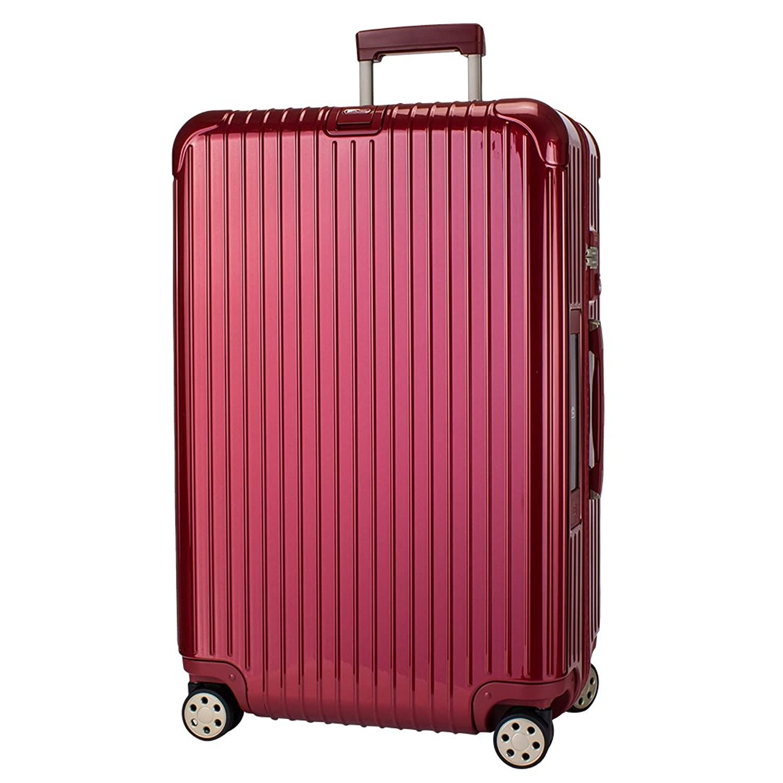 【E-Tag】 電子タグ RIMOWA [ リモワ ] サルサデラックス 831.73.53.5 【4輪】 スーツケース マルチ 【SALSA DELUXE】 レッド Multiwheel 87L [並行輸入品] B073P2H9DR
