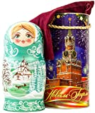 craftsfromrussia Russian Nesting Doll - Winter`s