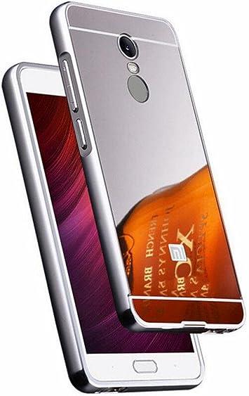 Carcasa de aluminio, metal + policarbonato antirrayaduras para Xiaomi Redmi Note 4: Amazon.es: Electrónica