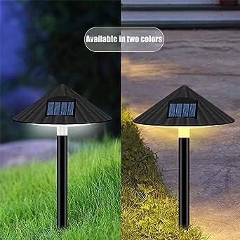 FEIDAjdzf - Luces solares para exteriores, resistente al agua, luz ...