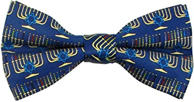 Jacob Alexander Mens Plaid Pre-Tied Banded Bow Tie