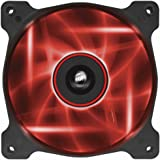 Corsair CO-9050015-RLED Air Series AF120-LED Quiet Edition 120mm haut Débit LED Ventilateurs de boitier Single Pack Rouge