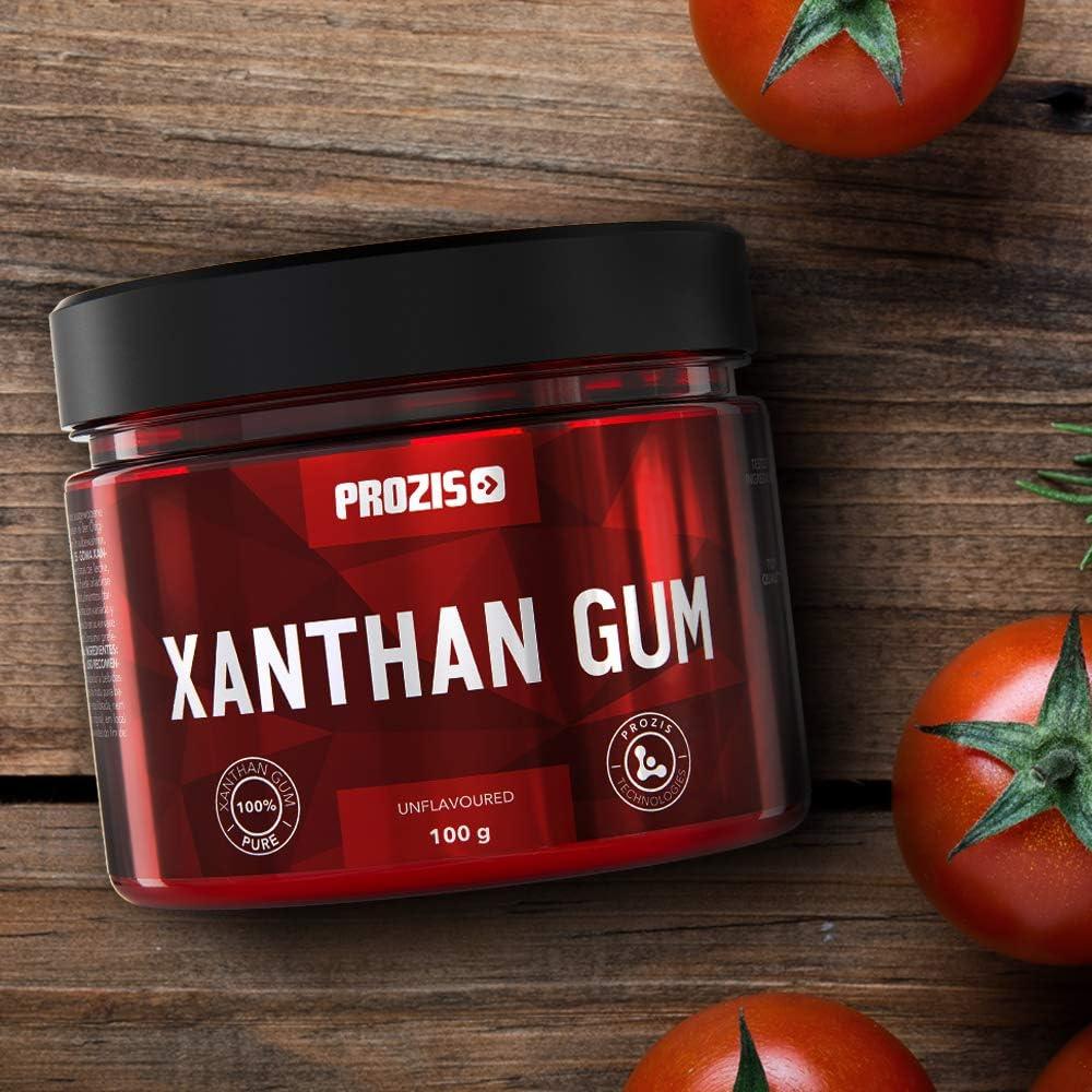Prozis Xanthan Gum 100 g – Fibra soluble, perfecta para ...