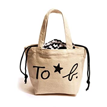 Amazon.com: iBaste Mini Lunch Tote Bags Small Canvas Lunch Bag for ...