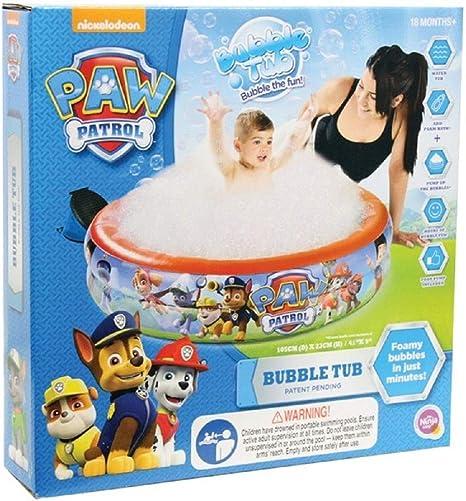 Paw Patrol - Bañera de Burbujas para Piscina al Aire Libre ...