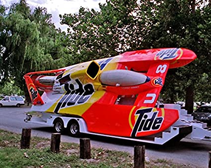 Amazon com: The Tide Unlimited Hydroplane Photograph