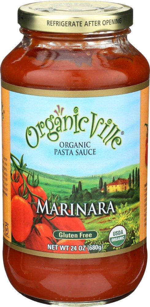 Organicville, Organic Marinara Pasta Sauce, 24 Oz