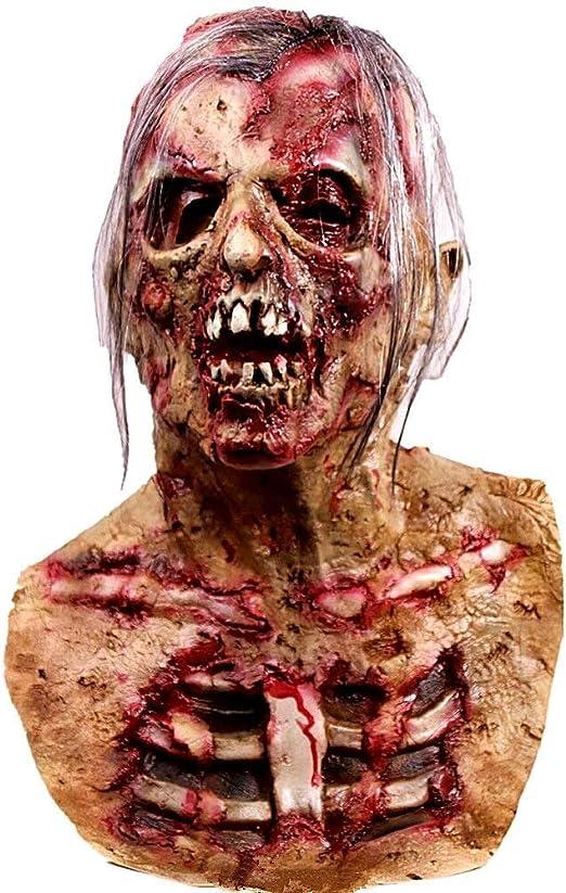 XYQB Máscara de Monstruo para Halloween, máscara de Cabeza ...