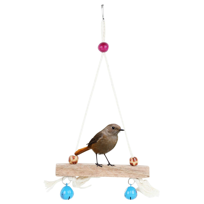 Bird Parrot Parakeet Budgie Cockatiel Cage Hammock Swing Hanging Toy (B078JMD2VF) Amazon Price History, Amazon Price Tracker
