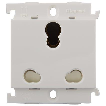 Legrand Mylinc 16A 3Pin Multi Socket 675555