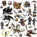 RoomMates How to Train Your Dragon 2 Peel and Stick Wall Decals