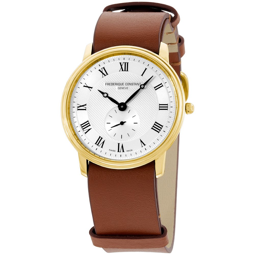 Frederique Constant Slimline Small Seconds Mens Collection Watches