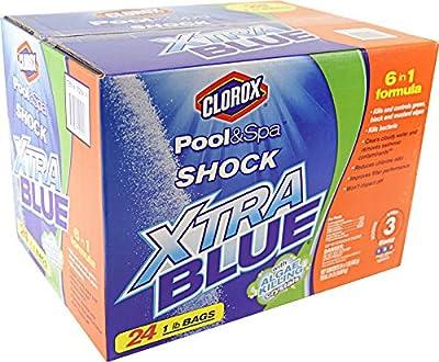 Clorox Pool&Spa Shock Xtra Blue, (24 Pound)