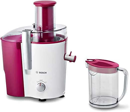 Bosch MES25C0 - Licuadora, 700 W, capacidad de 2 l, boca de llenado XL, color rosa: Amazon.es: Hogar