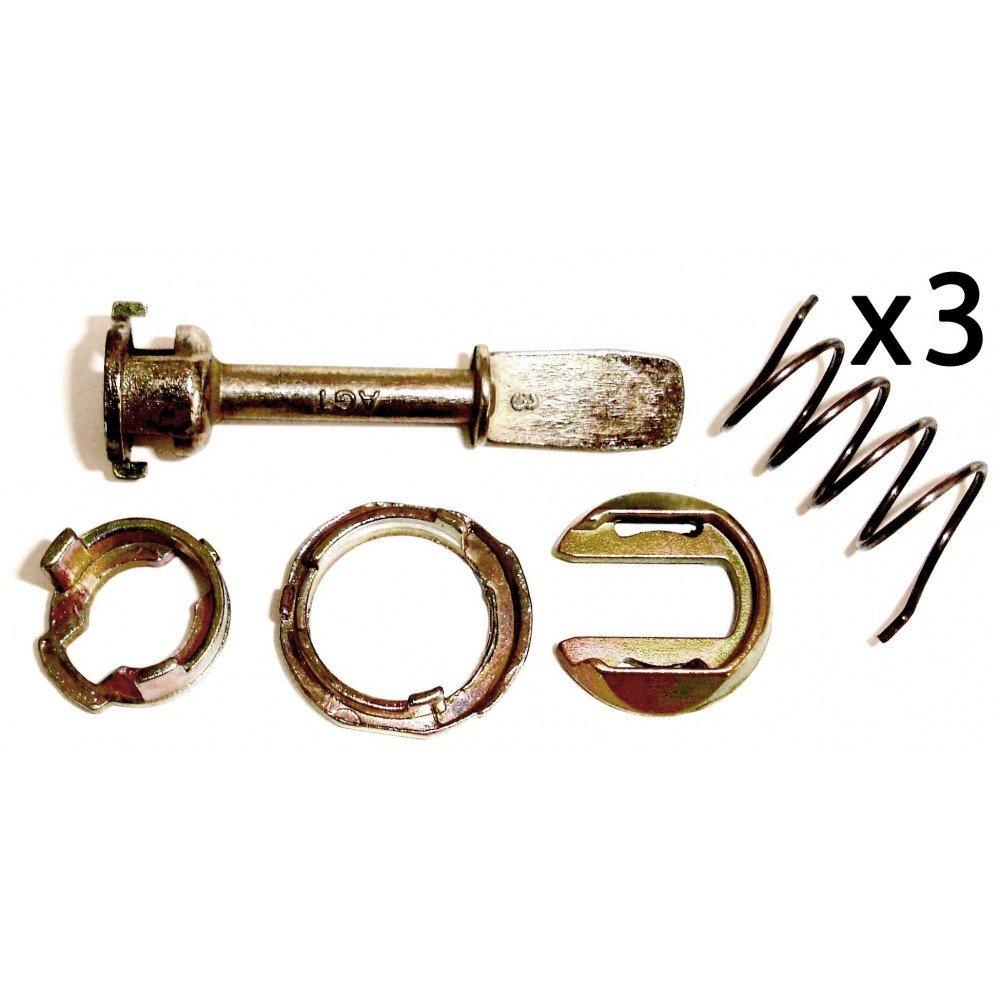 Autoparts - 3X Juego reparacion para Cilindro Cerradura 3B0837167