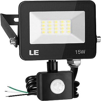 LED Floodlight Motion Sensor Security 30W 50W Wall Light Outdoor PIR Flood Light