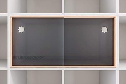 Superelch Puerta corredera para estantería Kallax de IKEA, Puertas ...