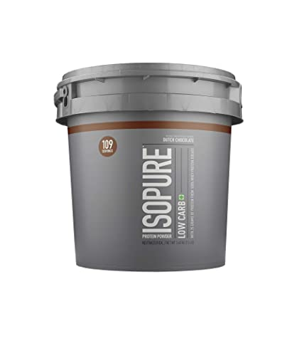 7224ce4c32e2 Buy Isopure Low Carb 100% Whey Protein Isolate Powder - 7.5 lbs