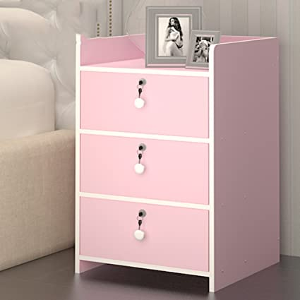 Amazon.com: GFYRHCGDFHJDGVF Modern simple bedside cabinet Solid wood ...