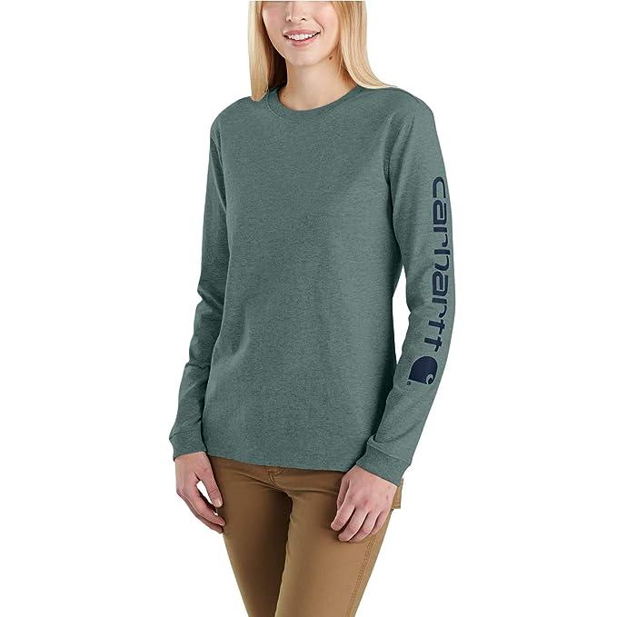 Plus K126 T Carhartt Sleeve Women's Sizes Long Shirtregular Workwear Pocket And l1J3TFKc