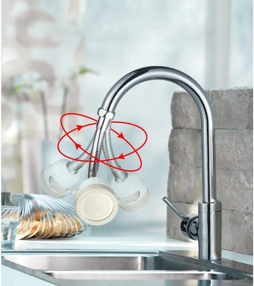 Color : Short Faucet Extender Home Kitchen Anti Splashing Faucet Nozzle Extender Pressurized Filter Head for Sprinklers for Kids