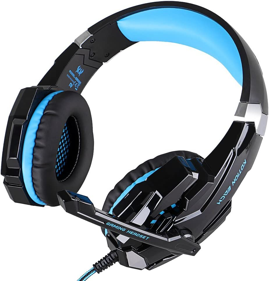 Afunta G9000 Stereo Cuffie Gaming per PC PS4 Xbox One Controller rumore significato.