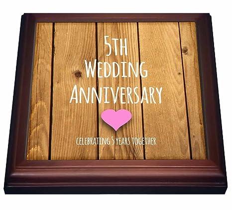 5th Wedding Anniversary Gift.Amazon Com 3drose 5th Wedding Anniversary Gift Wood