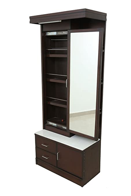 adlakha furniture espresso dressing table with amusing storage