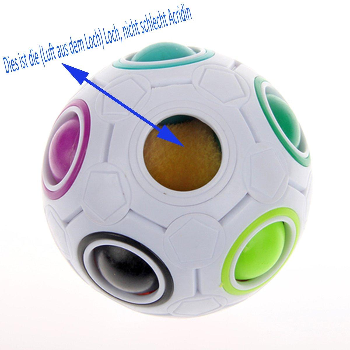 Speed 11 Couleurs arc /à r/ésoudre Yongjun Rainbow Magic Magic Ball Cube Puzzle Cube