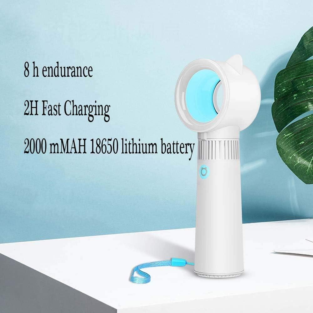 Color : 03 XIAOF-FEN Mini Handheld Fan USB Charging Summer Fan 3 Gear Wind Electric Fan Home Office Outdoor Fans USB Fan