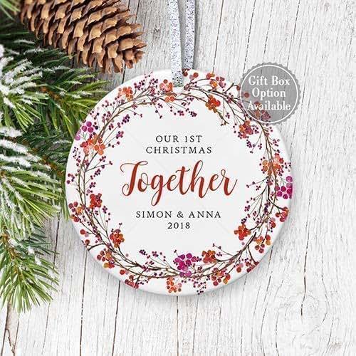 Amazon.com: Our 1st Christmas Together 2019, Couple Gift ...