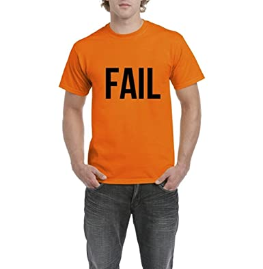 f2436eb597fc FAIL Most Popular Graphic Tees Mens T-shirt Tee (Small)  Amazon.co.uk   Clothing
