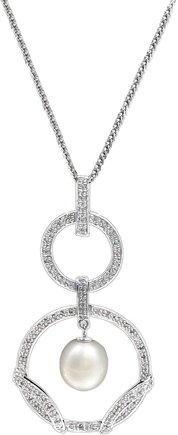 Sinya 925 Sterling Silver Fine Jewelry Sweater Pendant Necklace Length 25.5inch to 27.5inch Adjustable