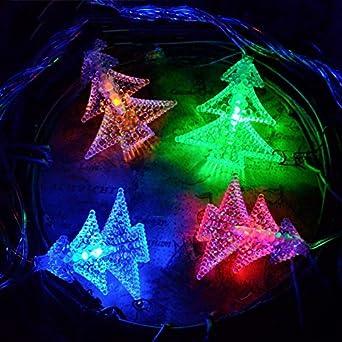Luces Decorativas Luces Led Linternas Luces De Navidad Árboles De Navidad Luces Festivales Al Aire Libre