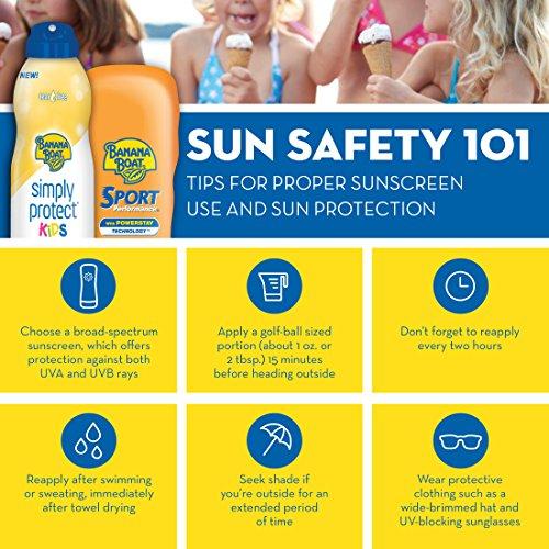 Banana Boat Sunscreen Kids Broad Spectrum Sun Care Sunscreen Stick - SPF 50 (Pack of 4) by Banana Boat (Image #5)