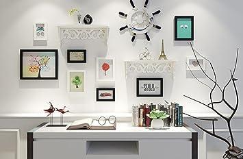Thatch Holzrahmen Foto Wohnwand Wohnzimmer Schlafzimmer Wand Dekoration  Hintergrund ,white Black