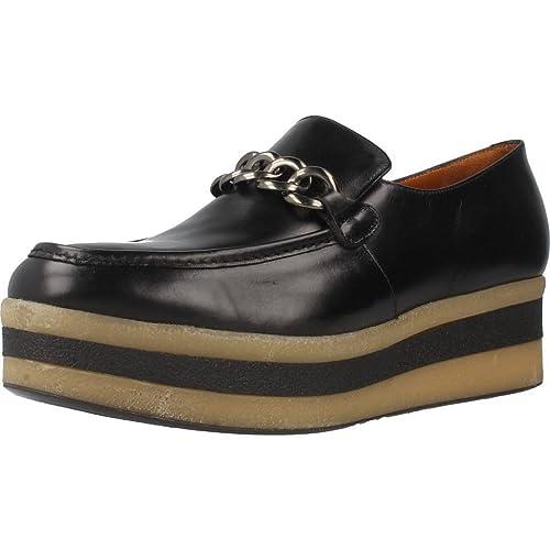 Mocasines para Mujer, Color Negro, Marca PONS QUINTANA, Modelo Mocasines para Mujer PONS QUINTANA 5211 C04 Negro: Amazon.es: Zapatos y complementos