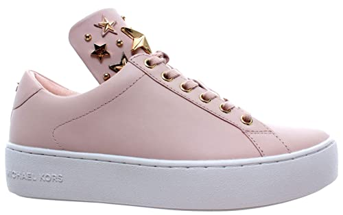 e86c334bf6b Michael Kors Mindy Lace Up Leather 43R9MNFS6L Soft Pink Gold Women s Shoes  New  Amazon.co.uk  Shoes   Bags