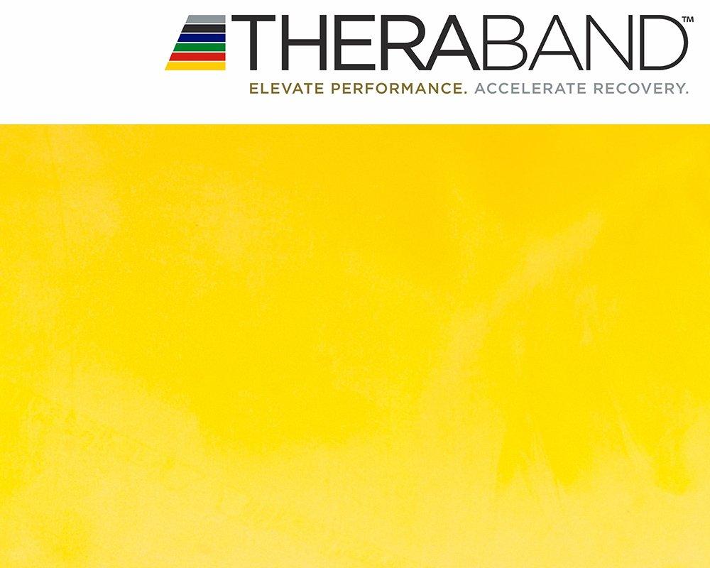 2,5/m incluye libro de ejercicios original de 24 p/áginas Thera-Band/ producto Thera-Band original /Banda el/ástica para entrenamiento