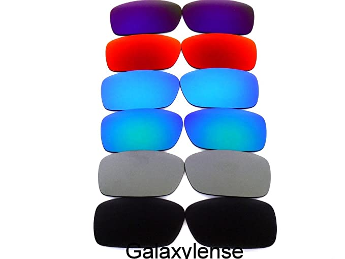 ddc7f5fdc0e Replacement Lenses For Oakley Crankcase Polarized Black Gray Blue Green Red